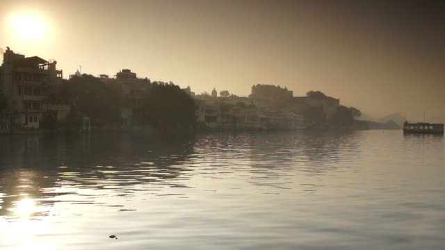 Lake Pichola at Sunset, Udaipur, India