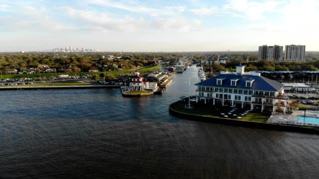 Lake Pontchartrain Yacht Club in New Orleans Louisiana