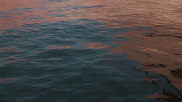 stockvideo's en b-roll-footage met lake powell reflects red rock formations. - powellmeer