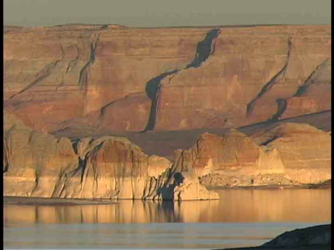 cu, lake powell, utah/arizona, usa - lago powell video stock e b–roll