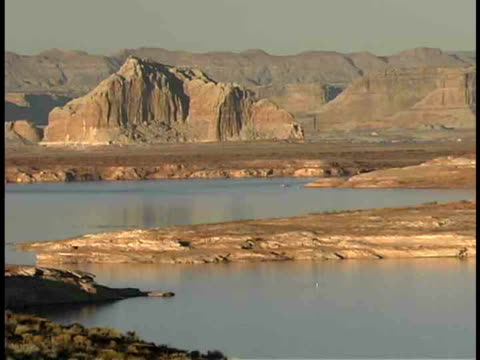 zo, ws, lake powell, utah/arizona, usa - lago powell video stock e b–roll