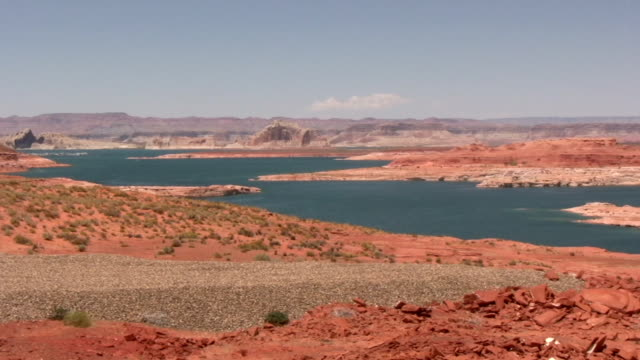 hd: lake powell - lake powell stock videos and b-roll footage