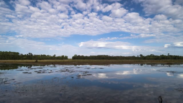 Lake Reflection Clouds