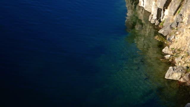 vídeos de stock, filmes e b-roll de lago, pedras, costa - cultura do leste europeu