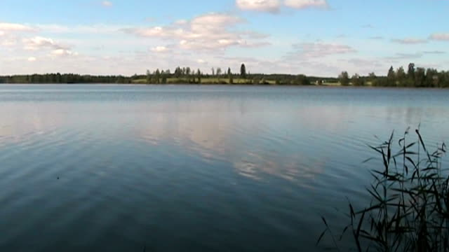 lake scenery - anamorphic stock videos & royalty-free footage