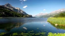 Lake Sils in Switzerland