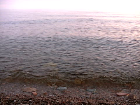 lago superiore - lago superiore video stock e b–roll