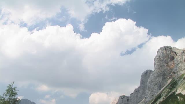 ws, td, lake surrounded with mountains, triglav lakes valley, triglav national park, gorenjska, slovenia - triglav national park stock videos and b-roll footage