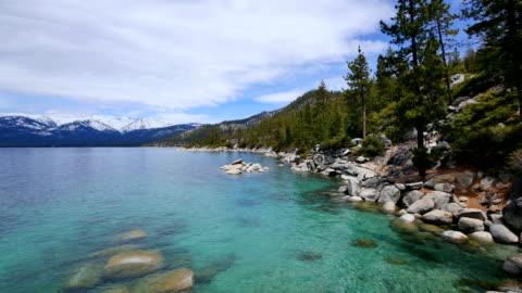lake tahoe, california - californian sierra nevada stock videos & royalty-free footage