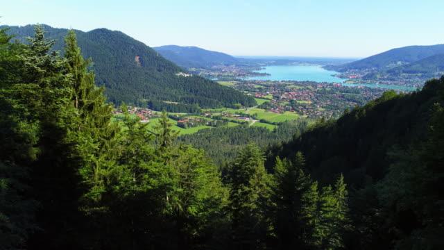Lago Tegernsee en Baviera desde el sur
