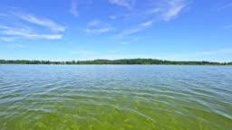 "Lake ""Waginger See"", Bavaria, in summer"