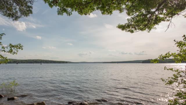 lake wallenpaupack - poconobergen bildbanksvideor och videomaterial från bakom kulisserna