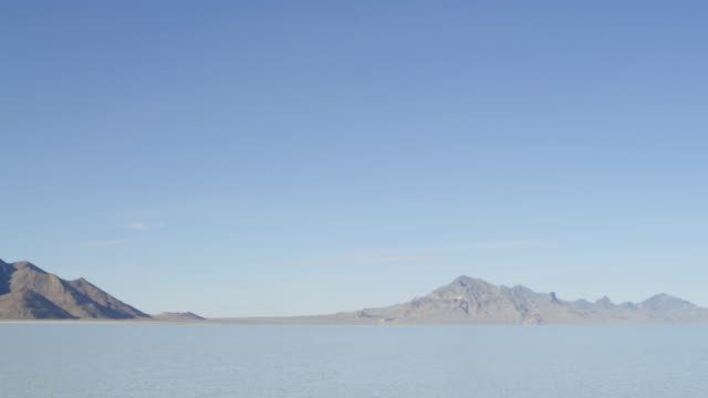 MS PAN Lake with mountain range in background