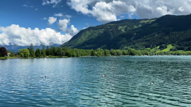 zell salzburgersjön - österrikisk kultur bildbanksvideor och videomaterial från bakom kulisserna