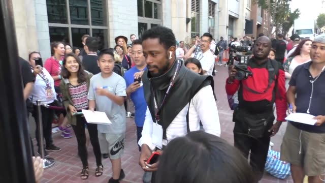 LaKeith Stanfield walking around at San Diego Comic Con in San Diego in Celebrity Sightings in San Diego