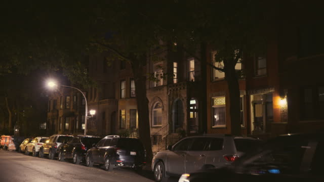 lakeview apartments night exterior - establishing shot stock videos & royalty-free footage