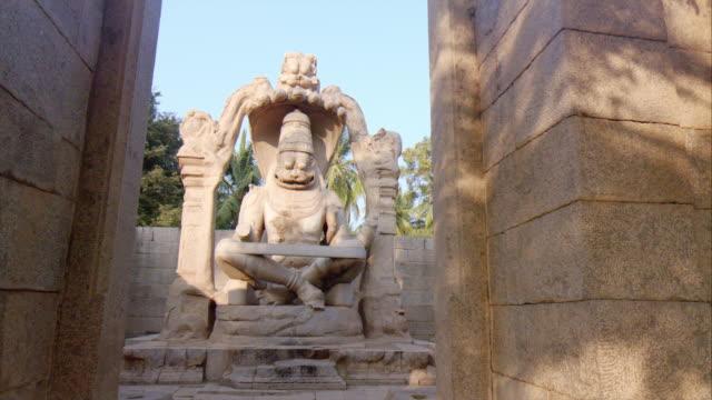 Lakshmi Narasimha Statue, Hampi, India