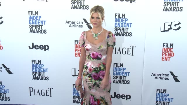 Lala Rudge at the 2017 Film Independent Spirit Awards Arrivals on February 25 2017 in Santa Monica California