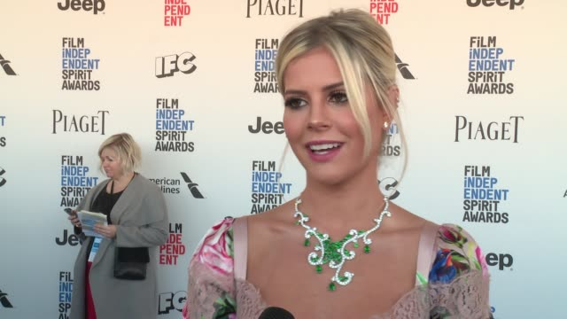 INTERVIEW Lala Rudge on the event at Piaget at the 2017 Film Independent Spirit Awards in Los Angeles CA