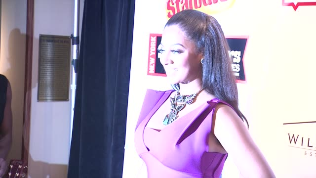 lala vazquez at the starburst presents songwriters music series to benefit the vh1 save the music foundation with matthew morrison at new york ny - vh1 stock videos & royalty-free footage