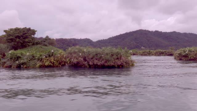 lalu island in sun moon lake, taiwan - sun moon lake stock videos and b-roll footage