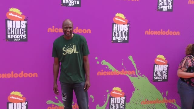 lamar odom at the nickelodeon kids' choice sports awards 2017 at ucla's pauley pavilion on july 13 2017 in westwood california - ucla stock videos & royalty-free footage
