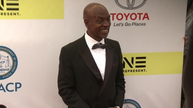 Lamar Richardson at 48th NAACP Image Awards at Pasadena Civic Auditorium on February 11 2017 in Pasadena California