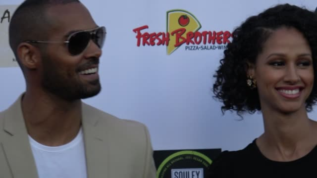 vidéos et rushes de lamon archey attends the national academy of television arts & sciences' 2018 daytime emmy nominee reception at the hollywood museum in hollywood in... - nominations aux emmy awards