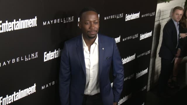 lamorne morris at 2016 entertainment weekly screen actors guild party at chateau marmont on january 29 2016 in los angeles california - entertainment weekly stock-videos und b-roll-filmmaterial