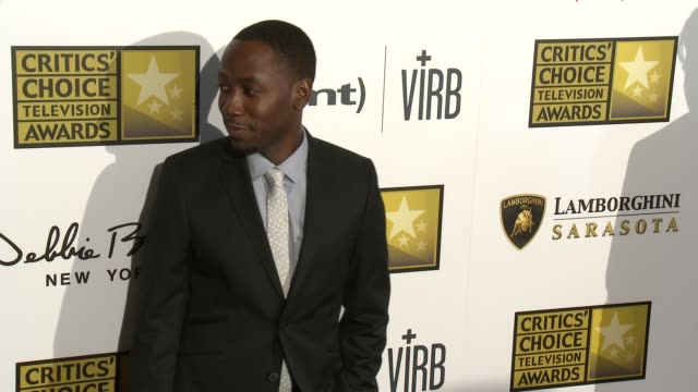 Lamorne Morris at Broadcast Television Journalists Association's 3rd Annual Critics' Choice Television Awards on 6/10/2013 in Beverly Hills CA