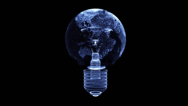 lamp bulb world map - energy efficient lightbulb stock videos and b-roll footage