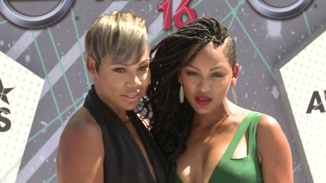 La'Myia Good Meagan Good at 2016 BET Awards in Los Angeles CA