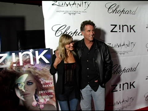Lana Antanova and Chris Lawfard at the Zink Magazine November Issue Celebration With Artists From Cirque Du Soleil at Bliss Lounge in Los Angeles...
