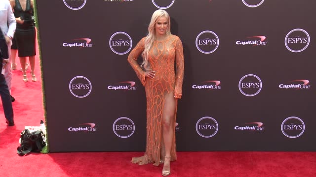 vídeos de stock, filmes e b-roll de lana at the 2018 espys at microsoft theater on july 18 2018 in los angeles california - espy awards