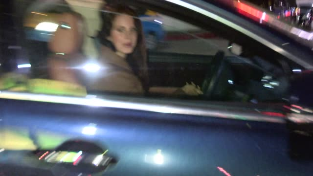 Lana Del Rey departing the Chateau Marmont in West Hollywood Celebrity Sightings in Los Angeles on in Los Angeles California