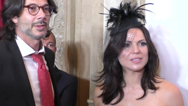 Lana Parrilla and Fred Di Blasio at the 6th Annual Face Forward Gala at the Millennium Biltmore Hotel Los Angeles at Celebrity Sightings in Los...