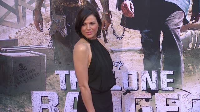 lana parrilla at the lone ranger los angeles premiere lana parrilla at the lone ranger los angeles pre at disney california adventure park on june 22... - the lone ranger 2013 film stock videos and b-roll footage