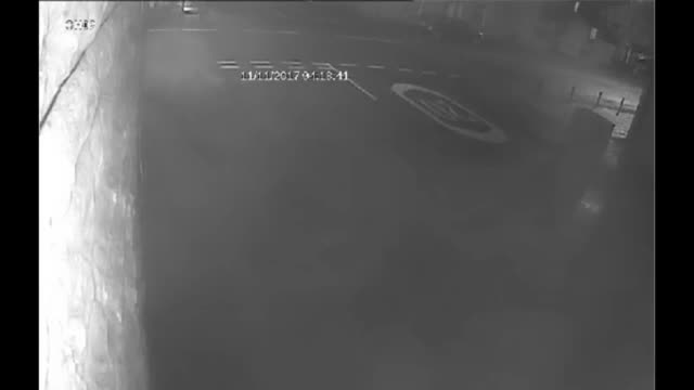 Lancashire Police are appealing to the public for help with finding two people who are wanted in connection with an arson attack in Burnley CCTV...