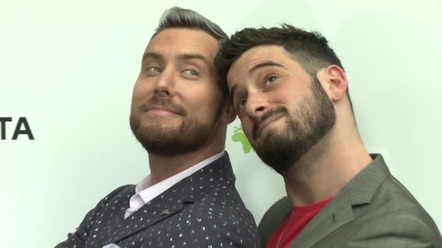 lance bass and michael turchin at the 29th annual environmental media awards at montage beverly hills on may 30 2019 in beverly hills california - environmental media awards stock videos & royalty-free footage