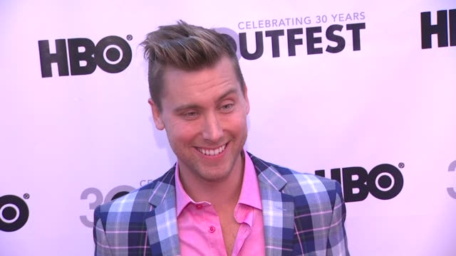 lance bass at the 30th annual los angeles gay lesbian film festival presents the opening night gala of vito on 7/12/2012 in los angeles ca - lance bass stock videos and b-roll footage