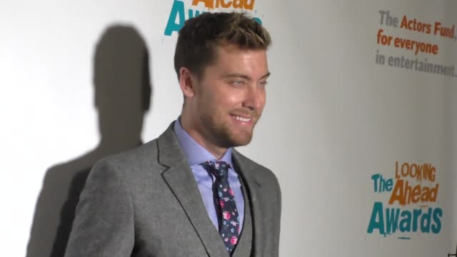 lance bass at the actors fund's 2016 looking ahead awards on december 06 2016 in los angeles california - lance bass stock videos and b-roll footage