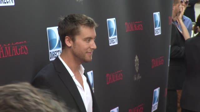 lance bass at the 'damages' season 4 premiere at new york ny - damages television show stock videos and b-roll footage