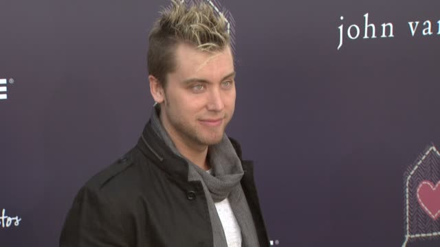 lance bass at the the john varvatos 7th annual stuart house benefit at los angeles ca - lance bass stock videos and b-roll footage