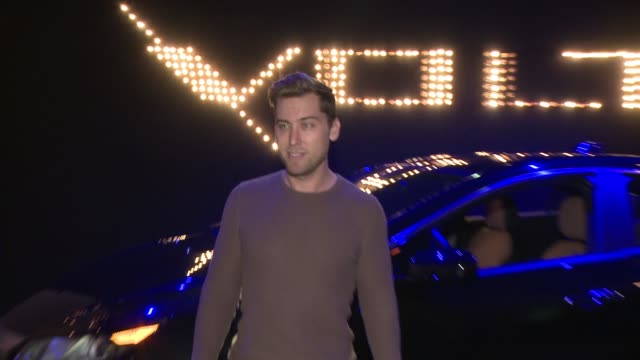 lance bass at the west coast reveal of the new 2016 next generation chevrolet volt at quixote studios on january 12 2015 in los angeles california - lance bass stock videos and b-roll footage