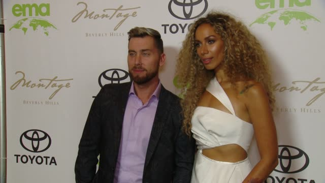 vidéos et rushes de lance bass, leona lewis at the 28th annual environmental media awards in los angeles, ca 5/22/18 - environmental media awards