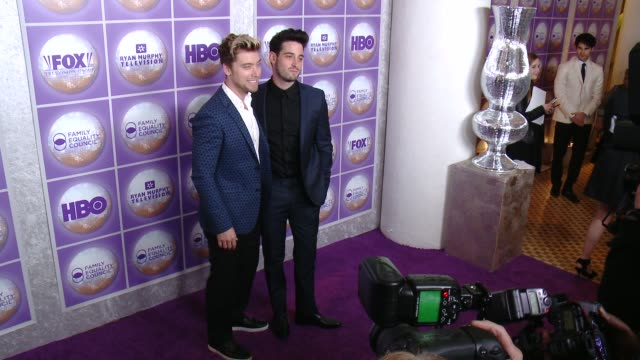 lance bass michael turchin at family equality council's los angeles awards dinner at the beverly hilton hotel on february 28 2015 in beverly hills... - lance bass stock videos and b-roll footage