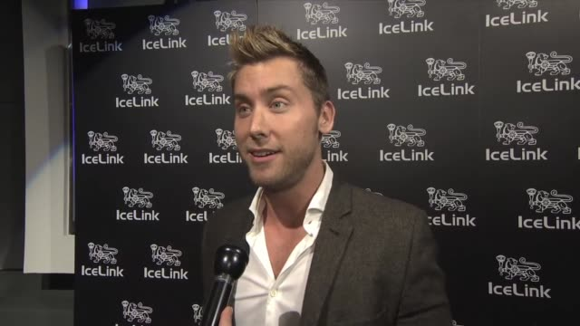 lance bass on producing a new tv show at icelink launch event in los angeles ca on 1/11/12 - lance bass stock videos and b-roll footage