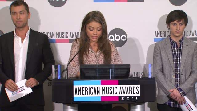 lance bass sarah hyland and mitchel musso - sarah hyland stock videos and b-roll footage