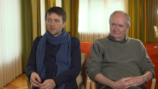 INTERVIEW Lance Daly Jim Broadbent on making a revenge film for the Irish at 68th Berlin Film Festival Black 47 Interviews on February 16 2018 in...