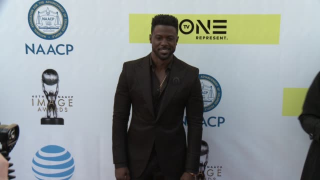 Lance Gross at 48th NAACP Image Awards at Pasadena Civic Auditorium on February 11 2017 in Pasadena California